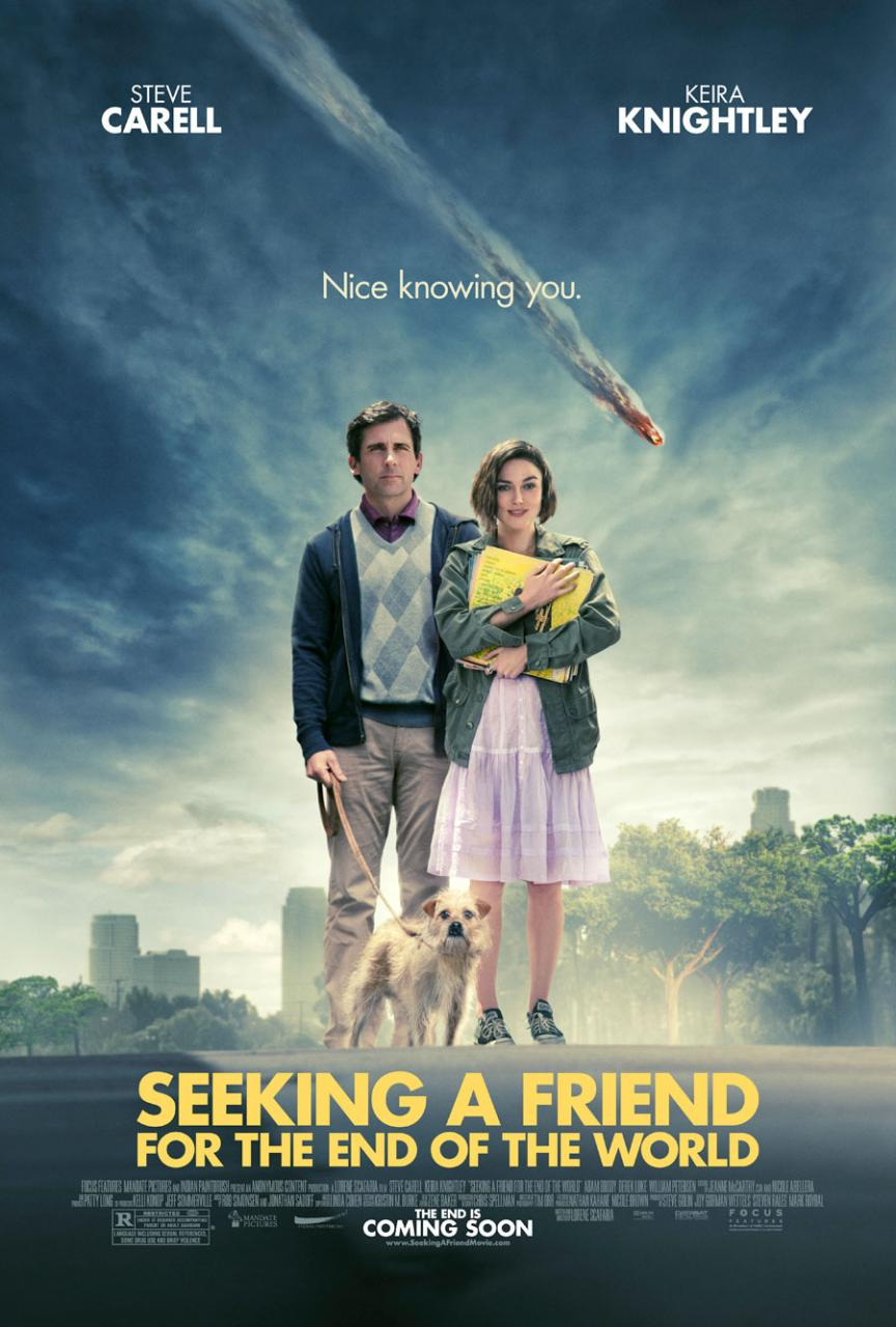 Weekly Movie Watch: Seeking A Friend For The End of The ...